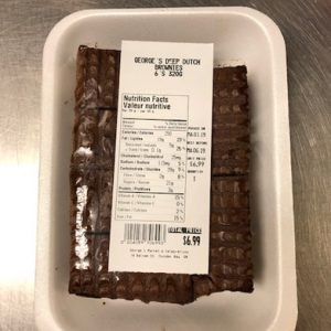 Deep Dutch Brownies